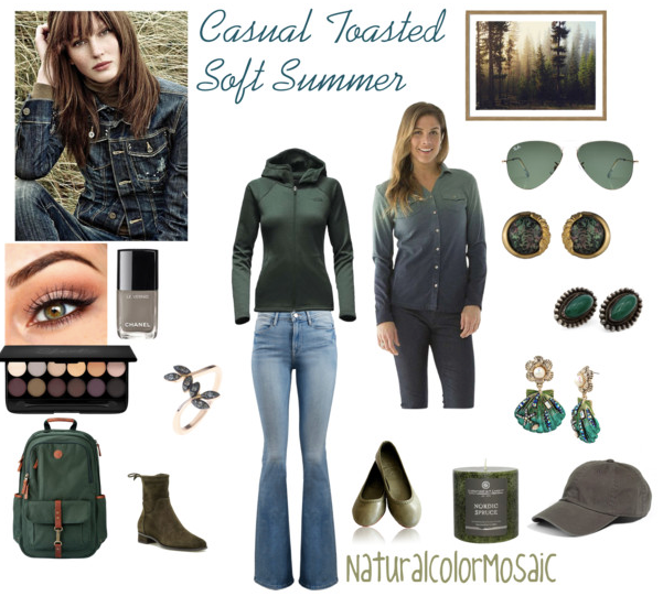 Casual Toasted Soft Summer